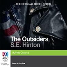 The Outsiders Audiobook by S.E. Hinton Narrated by Jim Fyfe