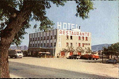 Hotel America Barcelona Spain Original Vintage Postcard At Amazon S Entertainment Collectibles Store