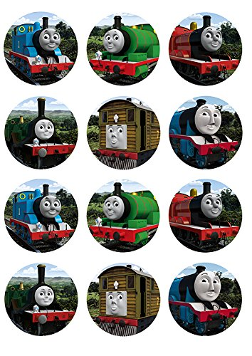 Thomas and Friends ~ Cupcake Topper ~ Edible Frosting Image ()