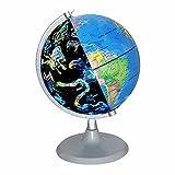 SGOTA USB 2 in 1 LED Desktop World Globe & Illuminated Constellation Map Ideal Educational Geographic Learning Toy