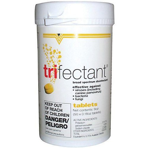 Tomlyn Trifectant Disinfectant - Tomlyn Trifectant Disinfectant Tablets