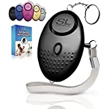 Personal Alarm Siren Song - 130dB Safesound Personal Alarm Keychain with LED Light, Emergency Self Defense for Women, Kids & Elderly. Security Safe Sound Rape Whistle Safety Siren Alarms