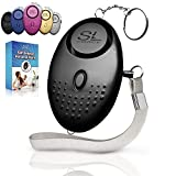 Personal Alarm Siren Song - 130dB Safesound Personal Alarm Keychain with LED Light, Emergency Self Defense for Women , Kids & Elderly. Security Safe Sound Rape Whistle Safety Siren Alarms by SLFORCE