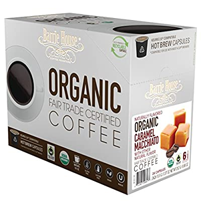 Barrie House Fair Trade Organic Coffee Single Serve Capsules