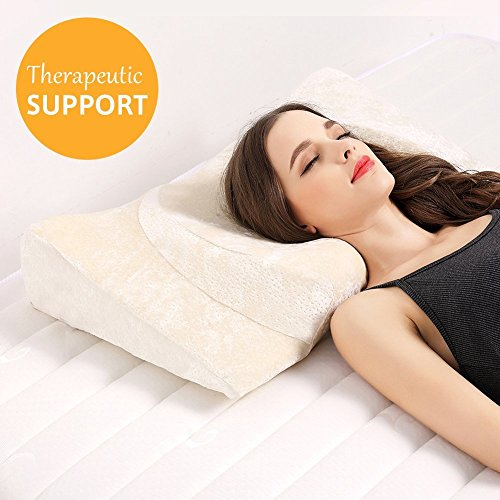 Little Tree Ergonomic Support Pillow with Heart- Sharpe Design, Orthopedic Hypoallergenic Sleep Pillow