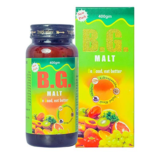 PanAsia Herbal Pure BG Power Malt with Natural Minerals and Vitamins, 400 g
