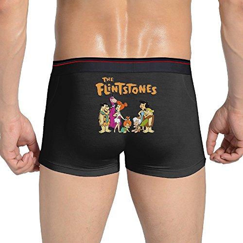 Gipsy Costume Men (KathyB The Flintstones Trunk For Men XXL Black)