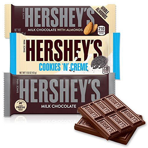 HERSHEY'S Chocolate Candy Bar Variety Pack, Halloween Candy,