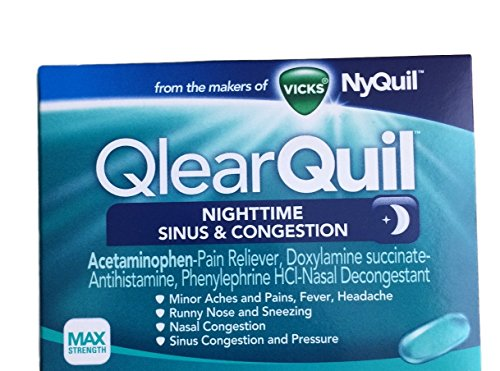VICKS Qlearquil Nighttime Congestion Relief product image