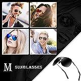 Aviator Sunglasses for Men Polarized Women-MXNX