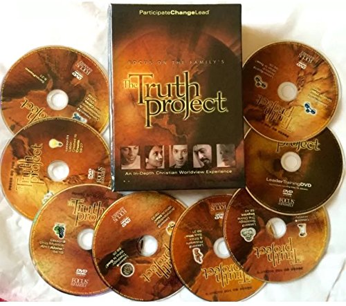 The Truth Project Dvd Set! Focus On the Family by Cold Water Media