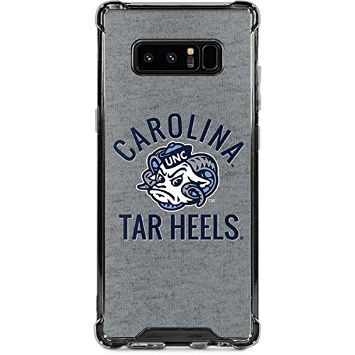 Skinit North Carolina Tar Heels Logo Galaxy Note 8 Clear Case - Skinit Clear Case - Transparent Galaxy Note 8 Cover
