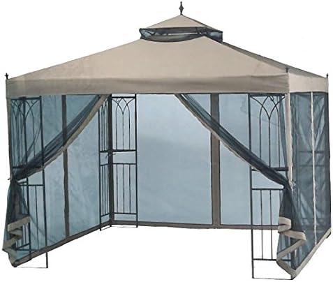 Garden Winds Cubierta Superior de Repuesto para toldo cenador Easy Setup de 3 x 3 m RipLock 350