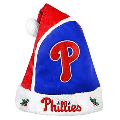 Forever Collectibles - MLB 2015 Santa Hat, Philadelphia Phillies