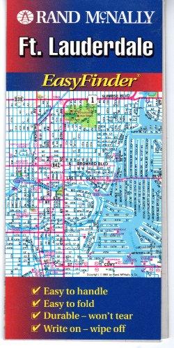 Rand McNally Ft. Lauderdale Easyfinder Map