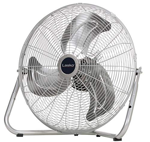Lasko 20″ High Velocity QuickMount Silver-Easily Converts from a Floor Wall Fan