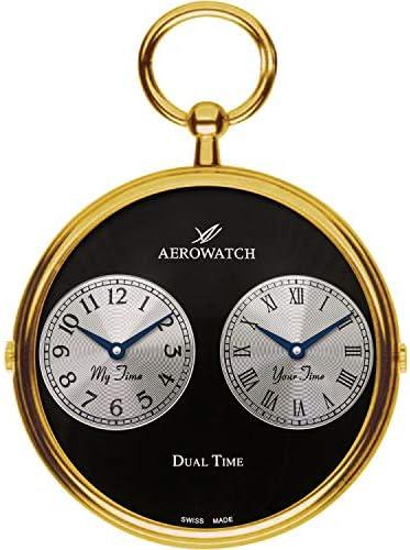 [アエロ]AERO WATCH デュアルタイム クォーツ 懐中時計05826JA03【正規輸入品】