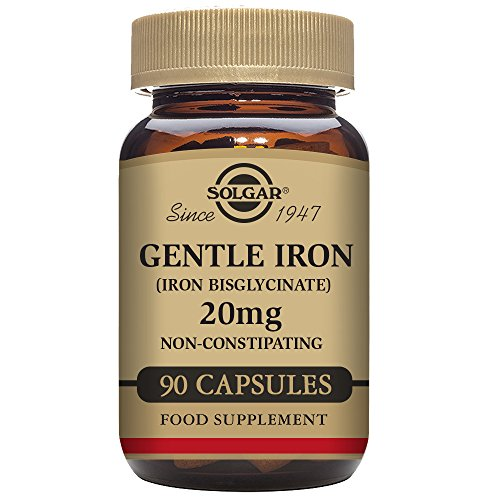 Solgar Gentle Iron 90 Vegetable Capsules (Iron 90 Vegetable Capsules)