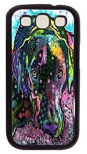 Adore Labrador Custom Samsung Galaxy I9300/Samsung Galaxy S3 Case Cover Polycarbonate Black