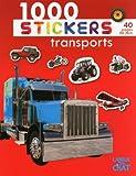 1000 stickers transports