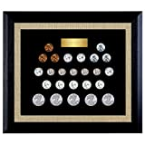 American Coin Treasures World War II Collection Wood Frame