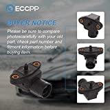 ECCPP MAP Sensor 37830-P05-A01 TN079800-3280 Fit