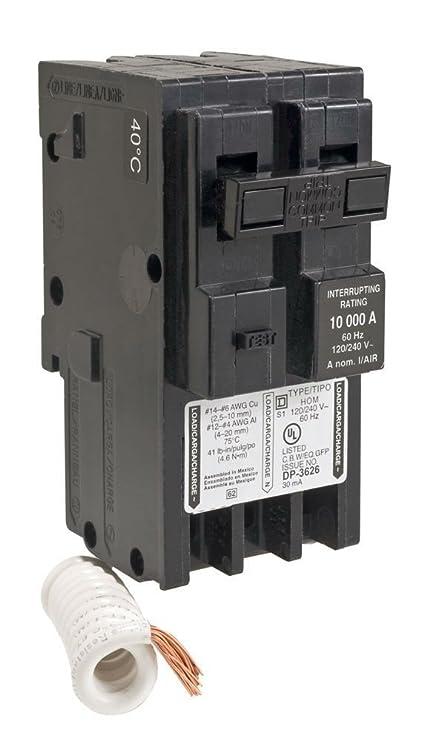 SCHNEIDER ELECTRIC Miniature Circuit Breaker 120/240-Volt 30-Amp ...