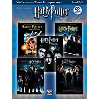 Harry Potter Instrumental Solos for Strings (Movies 1-5): Violin, Book and CD