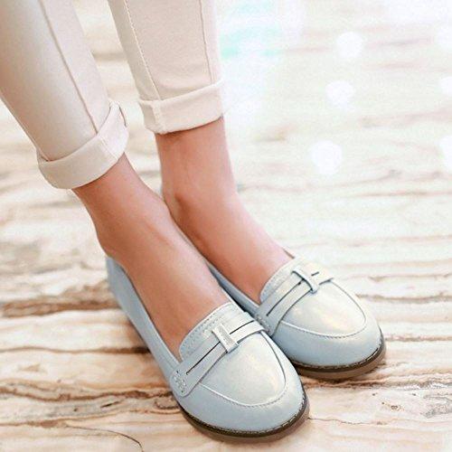 Brogue Zanpa Chaussures Classique Femmes Blue qFnxwSHv8