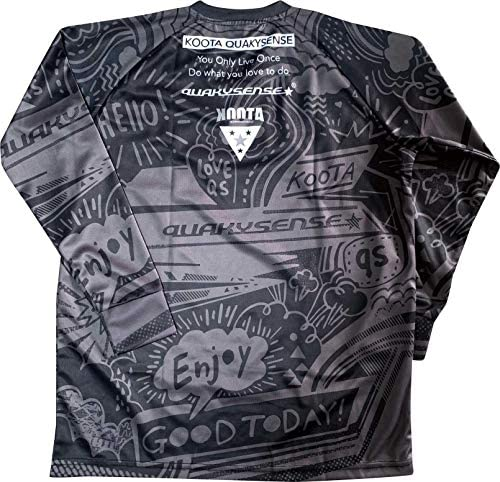 QUAKYSENSE(クエーキーセンス)2020年モデル 長袖 クールシャツ・ブラック
