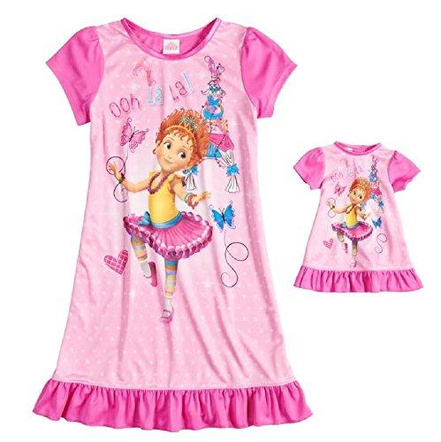AME Fancy Nancy Nightgown & Doll Gown Set - Girls