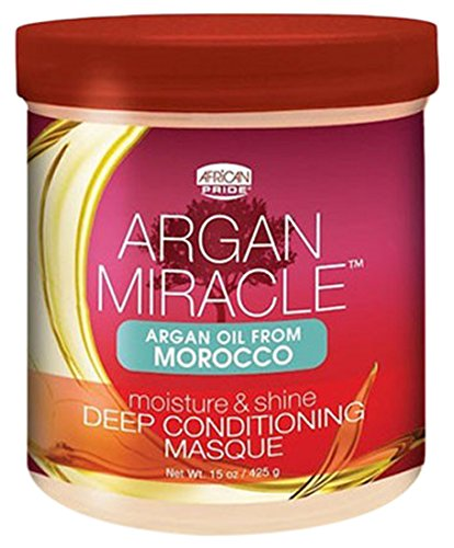 African Pride Argan Miracle Deep Conditioning Masque, 15 Oun
