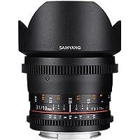 Samyang Cine SYCV10M-MFT 10mm T3.1 Cine Wide Angle Lens for Olympus/Panasonic Micro 4/3 Cameras