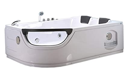 Vasche Da Bagno Angolari 120 120 : Vasca bagno idromassaggio angolare modello elite cm