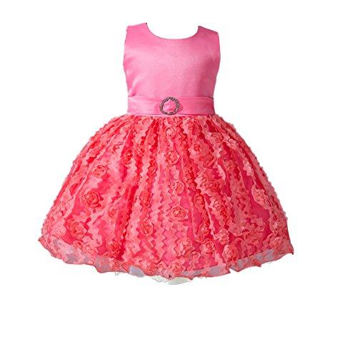 del del bautismo formales ZAMME partido Sandía niña Roja de la Bautismo del del bautizo Vestidos baile n8C8x0q4w