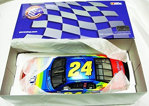 Jeff Gordon VERY RARE #24 Dupont 1999 Die Cast Chevy Monte Carlo RARE HSN Limited Ed of 7,500-Large 1:18 Scale Die Cast Rainbow Car-New in - Delivery Confirmation Cost Of