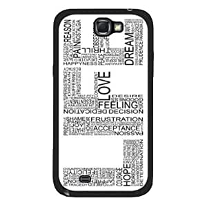 Nafeesa J. Hopkins's Shop Best Life Quote Hard Back Case Cover for Samsung Galaxy Note 2 N7100 2401660M21953840