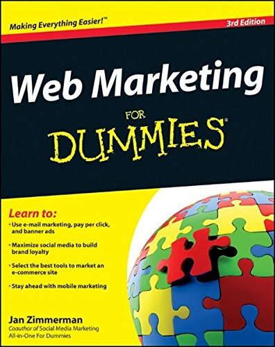 Web Marketing Dummies Jan Zimmerman product image