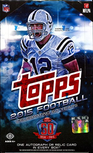 Cards Hobby Box (36 pks/Box - 1 Autograph or Memorabilia Per Box) - Release 8/26 (36 Football Card)