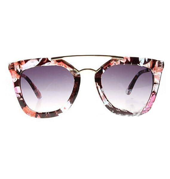 Gafas de sol Unisex de flores de celebridad de búhos de ...