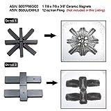 """CMS Magnetics Ceramic Magnet 1 7/8"""" x 7/8"""" x"""