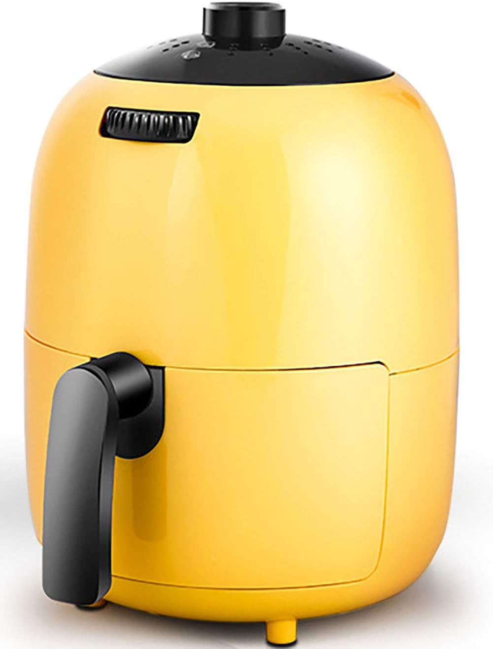 Air Fryer, Digital Mini Air Fryer 6-in-1 Oil Free Healthy Fryer Family-Size Capacity Oven/Cooker for Low Fat Cooking Timer and Fully Adjustable Temperature Control, LED Display