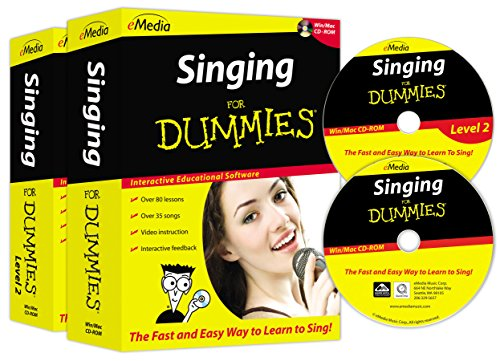 eMedia Singing For Dummies Deluxe (2 volume set) by eMedia