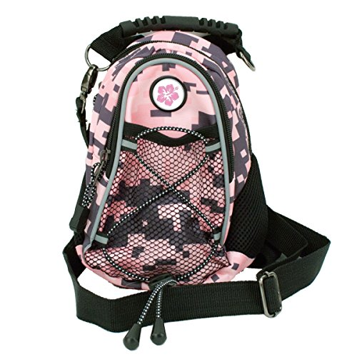 CMC Scottsdale Pink Digi Camo Midi Day Pack with Hibiscus Medallion