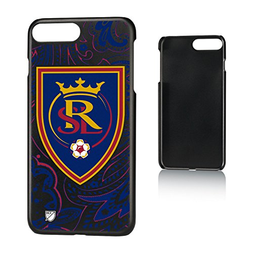 Keyscaper MLS Real Salt Lake Paisley Slim Case for iPhone 8 Plus/7 Plus/6 Plus, Black by Keyscaper