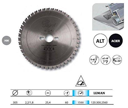 Leman–Klinge Wolframcarbid für Metalle 305x 25,4x 60Z–120.300.2560