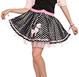 Forum Novelties Womens Plus-Size Flirting with The 50s Deluxe Poodle Skirt