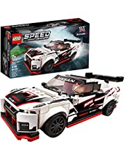 LEGO Speed Champions Nissan GT-R NISMO 76896 Toy Model Cars Building Kit Featuring LEGO Minifigure, New 2020 (298 Pieces)