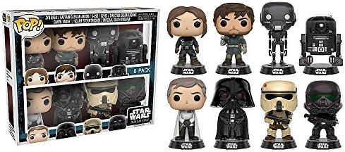 Star Wars Funko Pop Rogue One Vinilo Bobblehead Figuras 8 Pack ...