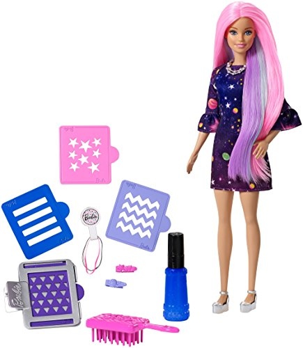 Barbie Color Surprise Doll, - Pink Brown Color